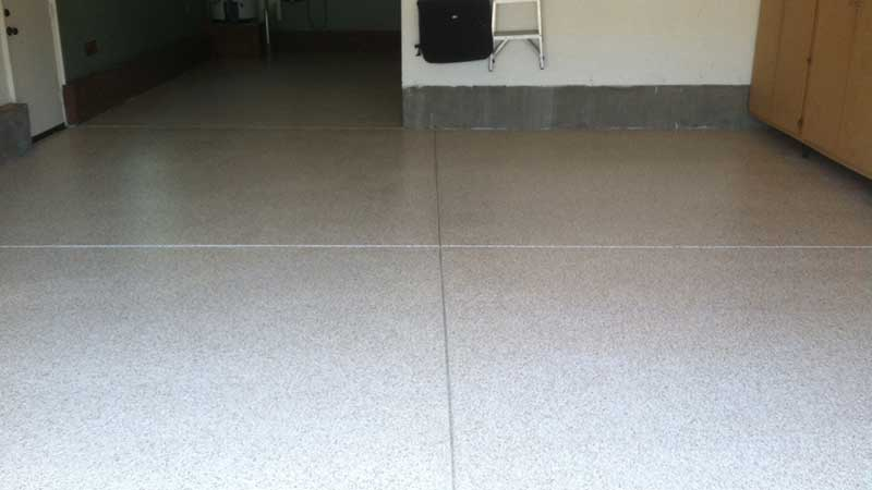 After Garage Epoxy Flooring