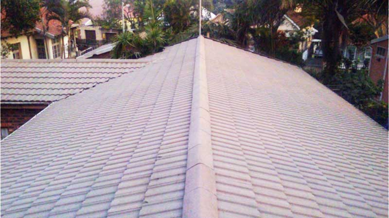 After Installing Asphalt Shingles