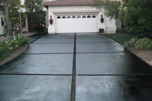 concrete overlays in residential setting