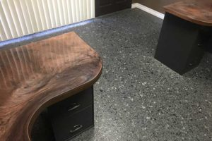 epoxy flooring in commercial setting