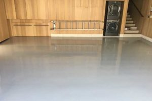 epoxy flooring in residential setting