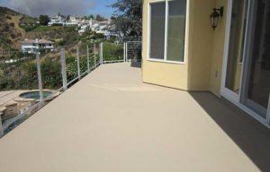 residential concrete deck waterproofing
