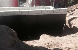 residential concrete foundatin wall waterproofing