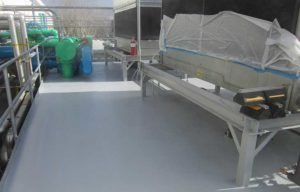 commercial concrete roof waterproofing