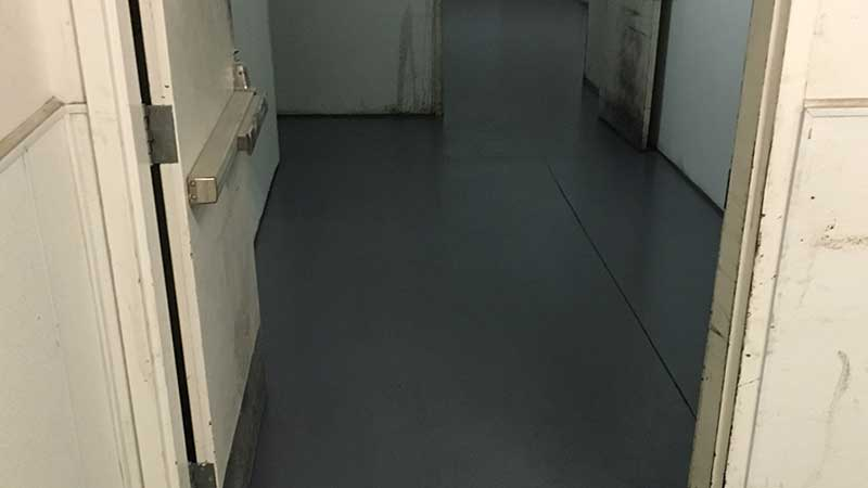 After Applying Epoxy Floor Coating