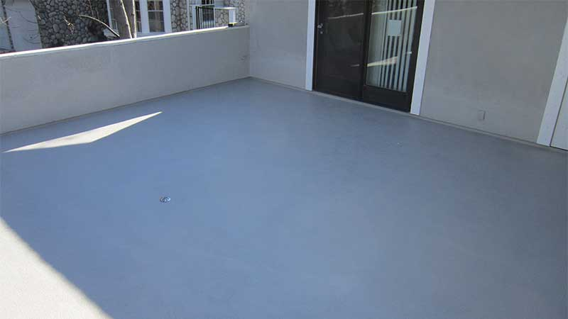 After Waterproofing Balcony