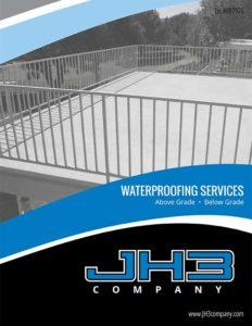 jh3 waterproofing brochure