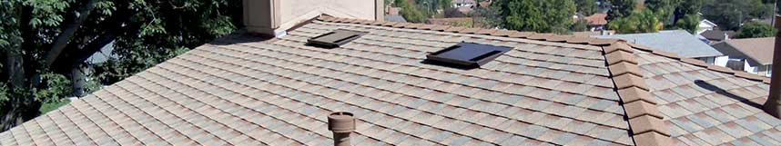 residential asphalt roof shingles installation