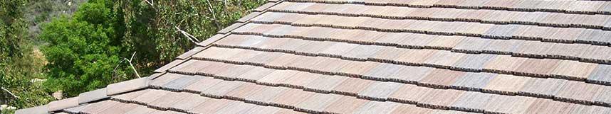 residential shake tile roof installation