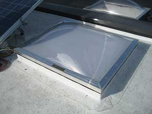 commercial skylights installation