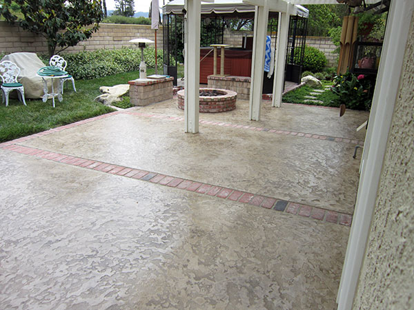 Residential Concrete Overlays Service Jh3 Company